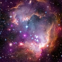 "Taken Under the ""Wing"" of the Small Magellanic Cloud Framed Print"