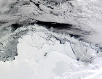 Shackleton Ice Shelf, Antarctica Fine Art Print