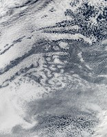 Satellite View of Pacific Ocean - various sizes