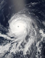 Satellite view of Hurricane Celia over the Pacific Ocean - various sizes, FulcrumGallery.com brand