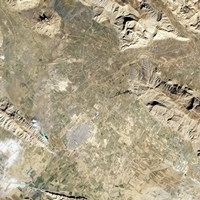 Satellite view of Persepolis and the Surrounding Region - various sizes