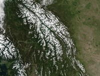 View of the Rocky Mountains - various sizes