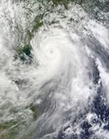 Typhoon Chanthu - various sizes