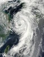 Tropical Storm Dianmu - various sizes
