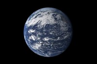 Full Earth Centered over the Pacific Ocean - various sizes, FulcrumGallery.com brand