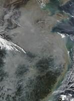 Haze Over Eastern China - various sizes - $46.99