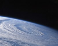A High-Oblique view of the Extra-Tropical Unnamed Cyclone that Merged with Hurricane Earl - various sizes, FulcrumGallery.com brand