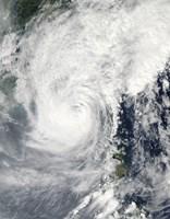 Typhoon Megi - various sizes