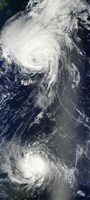 Two Powerful Storms Span the Atlantic Ocean - various sizes - $47.49