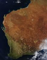 Satellite view of Western Australia - various sizes, FulcrumGallery.com brand