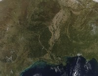 A Cloud-free view of the Southern United States - various sizes