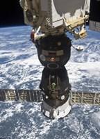 The Soyuz TMA-19 spacecraft docked to the Rassvet Mini-Research Module 1 - various sizes - $47.99