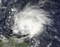 Hurricane Tomas over the Lesser Antilles - various sizes - $47.99
