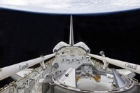 A partial view of Space Shuttle Endeavour's Payload Bay - various sizes
