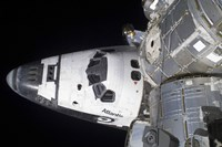 A High-angle view of the Crew Cabin of Space Shuttle Atlantis - various sizes, FulcrumGallery.com brand