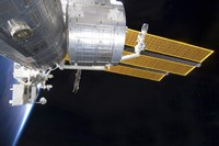 The Japanese Kibo Complex of the International Space Station - various sizes