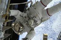 Astronaut Participates in a Session of Extravehicular Activity 2 - various sizes, FulcrumGallery.com brand