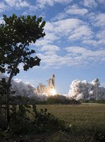 Space Shuttle Atlantis lifts off from its Launch Pad at Kennedy Space Center, Florida - various sizes, FulcrumGallery.com brand