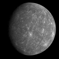 Planet Mercury 2 Fine Art Print