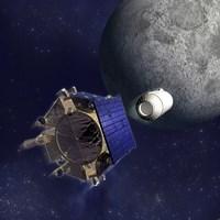 Artist's Illustration of the Lunar Crater Observation and Sensing Satellite - various sizes, FulcrumGallery.com brand