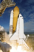 Space Shuttle Atlantis Lifts off from  Space Center, Florida - various sizes