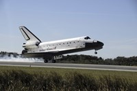 Space Shuttle Atlantis Touches Down at Kennedy Space Center, Florida - various sizes