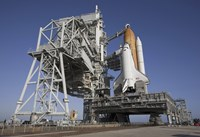 Space Shuttle Endeavour Atop a Mobile Launcher Platform at Kennedy Space Center - various sizes