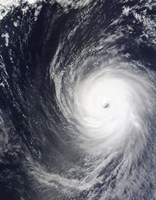 Super Typhoon Melor Hovers over the Pacific Ocean - various sizes - $47.49
