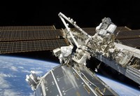 Astronauts Perform a Series of Tasks on the Exterior of the International Space Station - various sizes