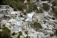 View of Port-au-Prince, Haiti, after a Magnitude 7 Earthquake Hit the Country - various sizes