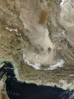 Dust Storm in Iran - various sizes, FulcrumGallery.com brand