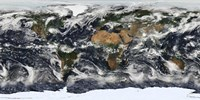 Detailed Satellite view of Earth - various sizes, FulcrumGallery.com brand