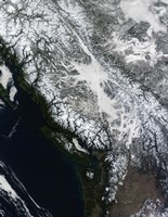 Fog and Snow in British Columbia - various sizes