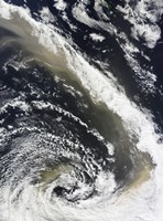 Dust Storm Blowing over the Tasman Sea Towards New Zealand - various sizes - $47.99