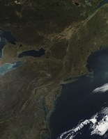 Fall Colors in the Eastern United States - various sizes