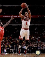 Derrick Rose 2014-15 Action Fine Art Print