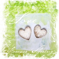 Spring Heart Collage by Andrea Haase - various sizes