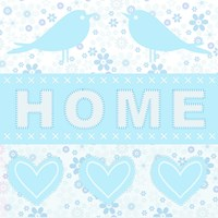 Home Birds Blue by Andrea Haase - various sizes