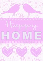 Happy Home Birds Fine Art Print