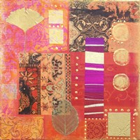 Pink Pattern Collage by Andrea Haase - various sizes - $39.49