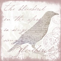 Nature Set Bluebird by Andrea Haase - various sizes, FulcrumGallery.com brand