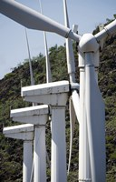 Wind Turbines at the Ascension Auxiliary Airfield - various sizes - $30.49