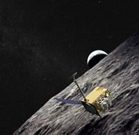 Artist Concept of the Lunar Reconnaissance Orbiter - various sizes