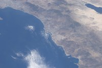 Part of Southern California as seen from Space - various sizes