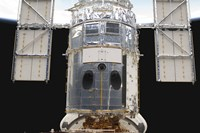 A Portion of the Hubble Space Telescope Locked down in the Cargo Bay of Space Shuttle Atlantis - various sizes, FulcrumGallery.com brand