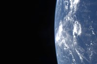 Earth's Horizon and the Blackness of Space - various sizes, FulcrumGallery.com brand