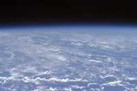 An Oblique Horizon view of the Earth's Atmosphere - various sizes