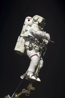 Astronaut Attached to a Foot Restraint during Extravehicular Activity - various sizes, FulcrumGallery.com brand