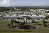 Aerial view of Kennedy Space Center - various sizes