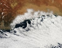Unusual Cloud Formations Crowd the Coastline of Australia - various sizes